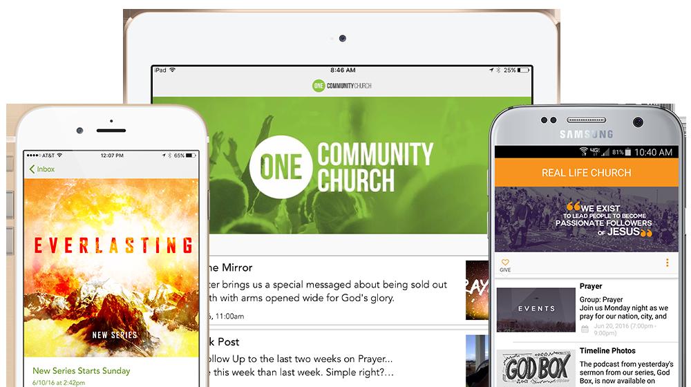 Church Apps - ChurchLink App 3.0